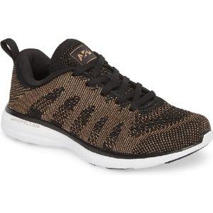 APL TechLoom Phantom Sneakers in Rose Gold/Black